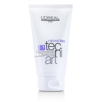 L'Oreal Professionnel Tecni.Art Natural Liss Thermo Smoothing Milk (Force 1)  150ml/5oz