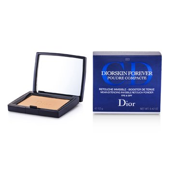 Christian DiorDiorSkin Forever Wear Extending Invisible Retouch Powder SPF 8 - # 003 Transparent Deep 12g/0.42oz
