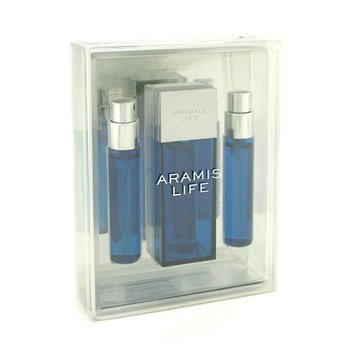 Aramis Aramis Life Eau De Toilette Spray and 2 Refills  3x15ml/0.5oz