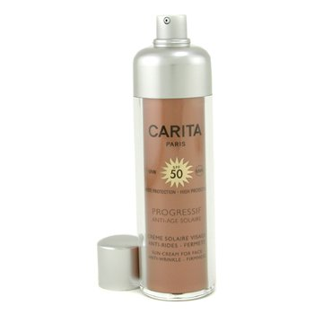 CaritaProgressif Anti-Age Solaire Sun Cream for Face SPF 50 3657 50ml/1.69oz