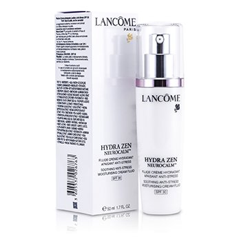 Lancome Hydrazen Neurocalm Soothing Anti-Stress Moisturising Crema Fluida Hidratante  SPF 30  50ml/1.7oz