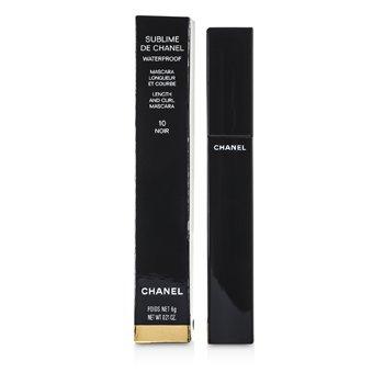 Chanel Mascara  Sublime De Chanel Waterproof - # 10 Noir  6g/0.21oz