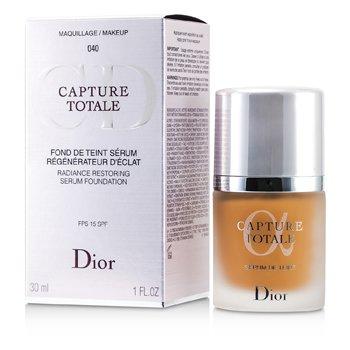 Christian DiorCapture Totale Radiance Base de Maquillaje Serum Restaurador SPF15 - # 040 Honey Beige 30ml/1oz