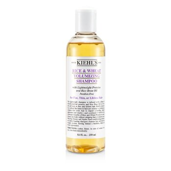 Kiehl's Rice & Wheat Volumizing Shampoo (For Flat  Thin or Lifeless Hair) 250ml/8.4oz