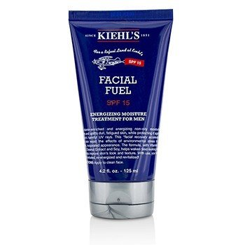 Kiehl'sFacial Fuel SPF 15 Sunscreen Energizing Moisture Treatment 125ml/4.2oz