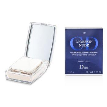 Christian DiorDiorskin Nude Natural Glow  Crema Gel Maquillaje Compacto SPF20 - # 022 Cameo 10g/0.35oz