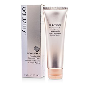 Shiseido Benefiance Pembersih Muka Ekstra Berkrim   125ml/4.4oz