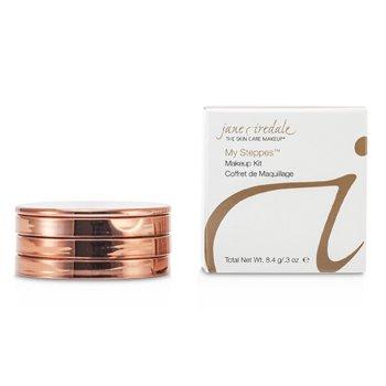 Jane Iredale My Steppes Makeup Kit - Warm (1x Bronzing Powder, 1x Blush, 1x Lip Gloss) 14955  8.4g/0.3oz