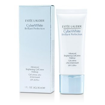 Estee Lauder CyberWhite Brilliant Perfection Advanced Brightening Gel Creme Makeup SPF 21 - # 04 Warm Vanilla  30ml/1oz