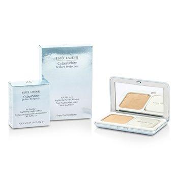 Estee LauderCyberWhite Brilliant Perfection Full Spectrum Brightening Powder Makeup SPF25 (Case + Refill) - # 07 Cool Cashmere 10g/0.35oz