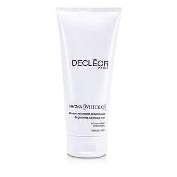 DecleorAroma White C+ Brightening Cleansing Foam (Salon Size) 200ml/6.7oz