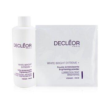 Decleor Set Blanqueador Decleor White Bright Extreme Set (Tama�o Sal�n): Loci�n Iluminante + 5x Polvo Iluminante  6pcs