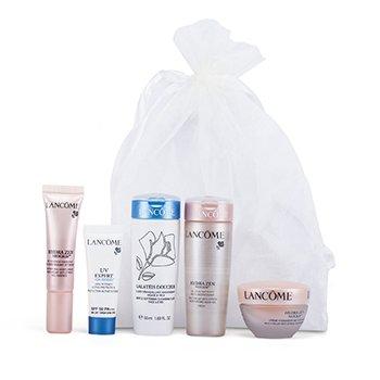 LancomeTravel Set: Galateis Douceur + Hydrazen Cream + Hydrazen Aqua Gel + Hydrazen Essence + UV Expert 5pcs