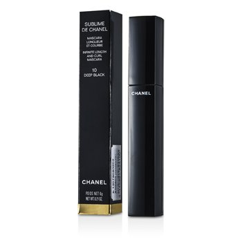 Chanel Mascara Sublime De Chanel  - # 10 Deep Black  6g/0.21oz