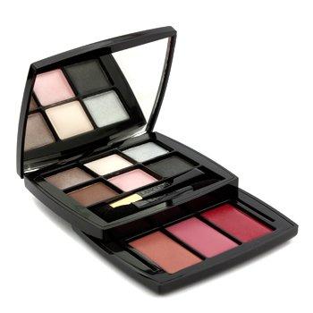 Lancome Magic Voyage Lip & Eye Pocket Palette (6x Eye Shadow  3x Lip Color   2x Applicator) -