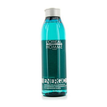 L'OrealShampoo Professionnel Homme Energic High Foam 250ml/8.45oz