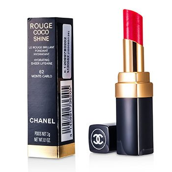 Chanel Rouge Coco Shine Hydrating Sheer Lipshine - # 62 Monte Carlo  3