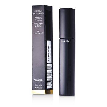 Sublime De Chanel Тушь для Ресниц - # 30 Темный Пурпурный 6g/0.21oz StrawberryNET 1820.000