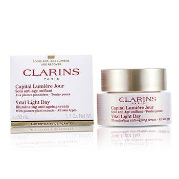 Clarins Vital Light Дневной Осветляющий Антивозрастной Крем 50ml/1.7oz