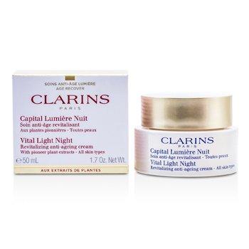 Clarins Vital Light Night Revitalizing Anti-Aging Cream 50ml/1.7oz