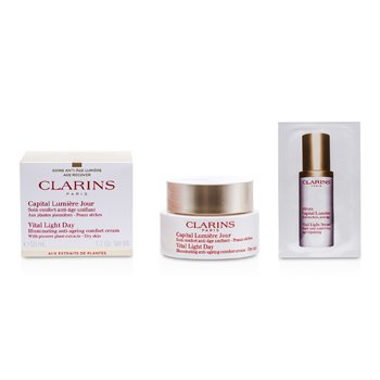 ClarinsVital Light Day Illuminating Anti-Aging Comfort Cream 50ml/1.7oz