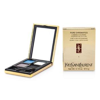 Yves Saint Laurent Pure Chromatics 4 Sombra de Ojos H�medas y Secas - #01  5g/0.18oz