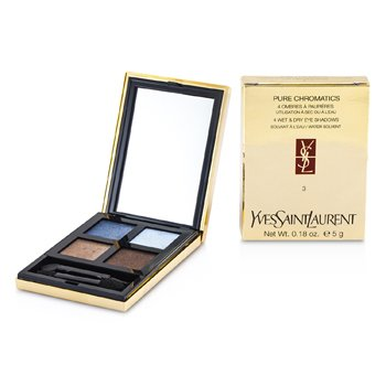 Yves Saint Laurent Pure Chromatics 4 Wet & Dry Eyeshadows - #03  5g/0.18oz