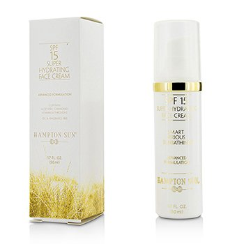Hampton Sun SPF 15 Super Hydrating Face Cream 50ml/1.7oz