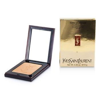 Yves Saint Laurent Terre Saharienne Bronzing Powder - #1 Sand  10g/0.35oz
