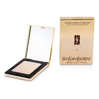Yves Saint Laurent Poudre Compacte Radiance Matt & Radiant Pressed Powder – # 04 Pink Beige 8.5g/0.29oz