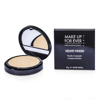 Image of Make Up For Ever Velvet Finish Compact Powder  1 Ivory 10g0.35oz