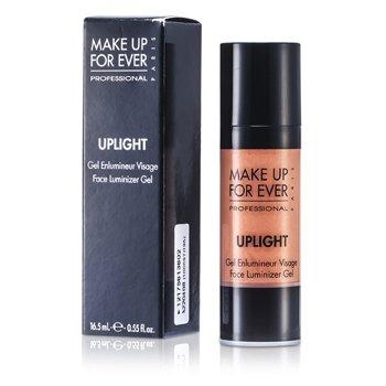 Make Up For EverUplight Face Luminizer Gel - #32 (Sparkling Golden Pink) 16.5ml/0.55oz