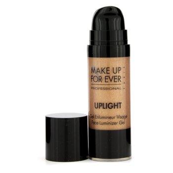 Make Up For EverUplight Face Luminizer Gel - #33 (Sparkling Golden Copper) 16.5ml/0.55oz