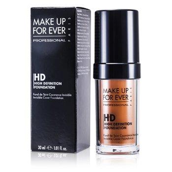 Make Up For Ever High Definition Foundation - #165 (Honey Beige) 30ml/1.01oz