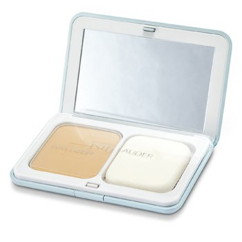 Estee Lauder CyberWhite Brilliant Perfection Full Spectrum Brightening Powder Makeup SPF25 (Case + Refill) - # 04 Warm Vanilla  10g/0.35oz