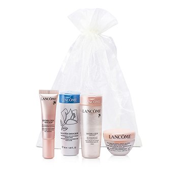 Lancome Hydra Zen Travel Set: Galateis Douceur + UV Expert + Aqua Gel + Essence + Moisturising Cream  5pcs