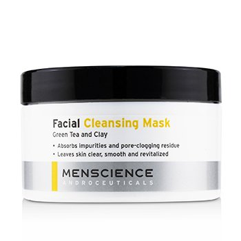 Menscience Facial Cleaning Mask – Green Tea And Clay 90g/3oz