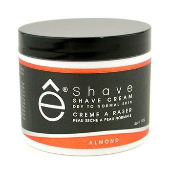 EShaveShave Cream - Almond 120g/4oz