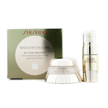 ShiseidoBio Performance Time Fighting Program: Advanced Super Revitalizer Cream + Super Eye Contour Cream 2pcs