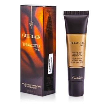Guerlain Terracotta Skin Healthy Glow Base Maquillaje- # 02 Brunettes  30ml/1oz