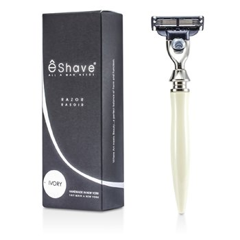 EShave3 Blade Razor - White 1pc