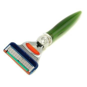 EShave5 Blade Razor - Green 1pc