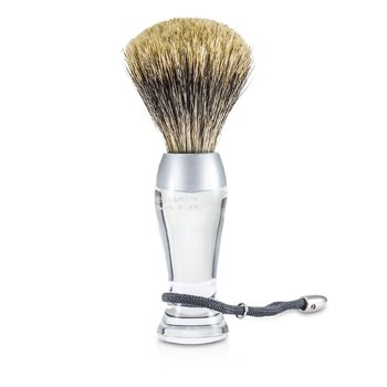 EShave Shave Brush Fine - Clear  1pc