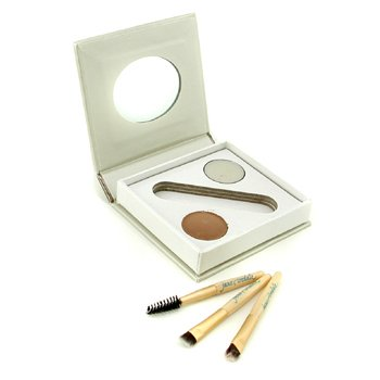 Jane IredaleBitty Brow Kit - Blonde (1x Brow Powder, 1x Brow Wax, 3x Applicator) 2.4g/0.085oz