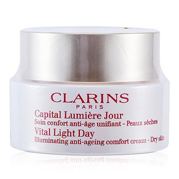 ClarinsVital Light Day Illuminating Anti-Aging Comfort Cream (Unboxed) 50ml/1.7oz