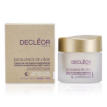 Decleor Excellence De L'Age Sublime Re-Densifying Night Cream 50ml/1.69oz