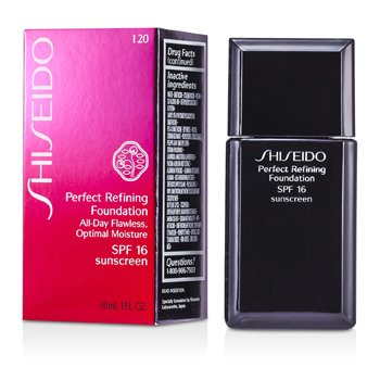 Shiseido Perfect Refining Foundation SPF16 - # I20 Natural Light Ivory  30ml/1oz
