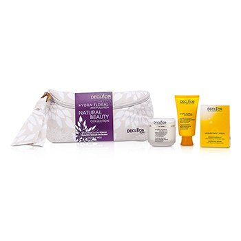 DecleorCole��o Hydra Floral Anti-Pollution Natural Beauty: Creme  + Mascara Facial + Aromessence Neroli + Nescessaire 3pcs+1bolsa