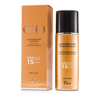 Christian DiorProtetor solar Dior Bronze Lait Sublimant Beautifying Protective Suncare SPF15 200ml/6.7oz