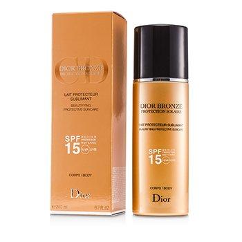 Christian DiorDior Bronze Lait Sublimant Beautifying Protective Suncare SPF15 200ml/6.7oz